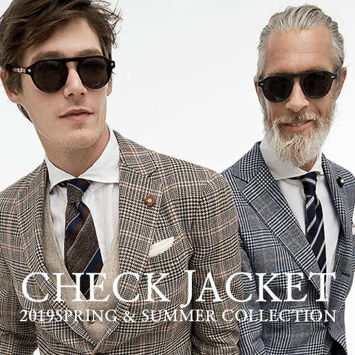CHECK JACKET COLLECTION 19SS