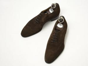 Gaziano&Girling【ガジアーノ&ガーリング】MITCHELL DG70 BROWN SUEDE(シューツリー込)