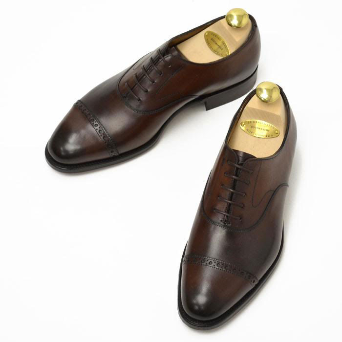 EDWARD GREEN【エドワードグリーン】BERKELEY D82 DARK OAK ANTIQUE CALF シューツリー込