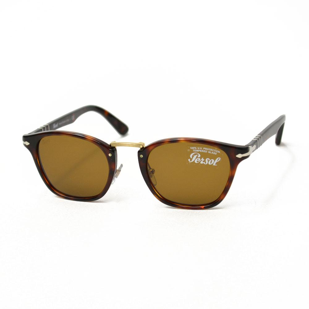 Persol【ペルソール】サングラス PO03110S  24/33 BROWN(ブラウン)